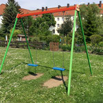 Magdeburg, Westernplan 4a -4b, Spielplatz, Baujahr 2014