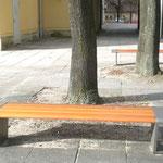 Eisenhüttenstadt, Lindenallee, Bank
