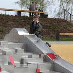 Oelsnitz, Landesgartenschau 2015, Spiel-Bau,Baujahr 2014
