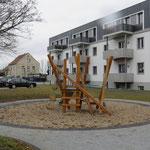 Großenhain, Bobersbergstraße 28 ,Spielplatz, Baujahr 2016