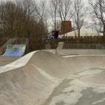 Prenzlau, Landesgartenschau 2013, Skateanlage