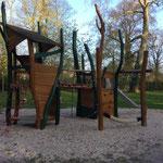 Genthin, Volkspark, Spielplatz, Baujahr  2015