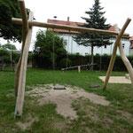 Sonneborn OT Eberstädt,  Spielplatz der Gemeinde, Baujahr 2017