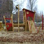 Berlin, Grützmacher Park, Goldbeckweg, Spielplatz, Baujahr 2014