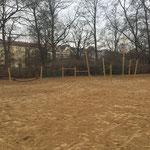 Berlin, Berliner Allee, Park am Weißensee, Schlossspielplatz, Baujahr 2016