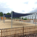 Potsdam, Esplanade 5, Interims-Grundschule Bornstedter Feld II, Baujahr 2016