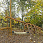 Georgenthal, Tambach Dietharz, Saurierpark Spielplatz, Baujahr 2014