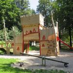 Augustusburg, Spielplatz an der Schlossauffahrt, Baujahr 2016