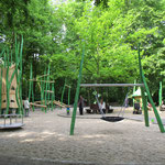 Leipzig, Louise Otto Peters Platz, Spielplatz