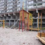 Berlin, Pallas Park, Spielplatz, Baujahr 2010