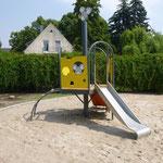 Gransee, Straße des Friedens, Mäuse Spielplatz, Eröffnung 17.07.2017, Baujahr 2017