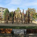 Halle, Albert-Schweitzer-Straße 40, Spielplatz, Baujahr 2016