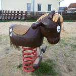 Kirchgandern,Dorferneuerung Spielplatz, Baujahr 2015