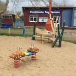 Wustrow, Am Hafen, Spielplatz, Baujahr 2016