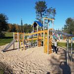 Ketzin OT Zachow, Gutenpaarener Dorfstraße Spielplatz am Sportplatz, Baujahr 2017