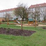 Lutherstadt Wittenberg, Willy-Lohmann-Str., Mehrgenerationen Spielplatz, Baujahr 2016