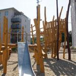 Dresden, Hepkestraße, Spielplatz Pegasus, Baujahr 2013