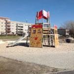Berlin, Wernerstraße, Spielplatz,Baujahr 2013/2014