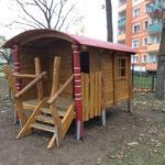 Neuruppin, Artur-Becker-Straße 16,Kita Kunterbunt, Baujahr 2018