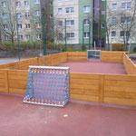 Berlin, Glambecker Weg, Mini-Sportanlage, Baujahr 2014