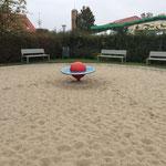 Berlin, Burghardweg, Spielplatz, Baujahr 2014