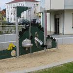 Heidenau,  Bahnhofstraße / Ringstraße,  Spielplatz, Baujahr 2016