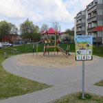 Brandenburg an der Havel, Nikolaus von Halem Straße 10 -16,  Spielplatz, Baujahr 2016