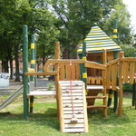 Hennigsdorf, Kirchstraße, Spielplatz, Baujahr 2014