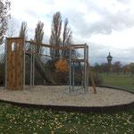 Schwedt (Oder), Rodelberg, Spielplatz, Baujahr 2016
