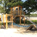 Schwarze Pumpe, Grundschule, Spielplatz, Planer: Subatzus & Bringmann GbR in Großräschen