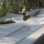 Oelsnitz, Landesgartenschau 2015, Skateanlage, Baujahr 2014
