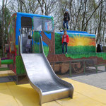 Oelsnitz, Landesgartenschau 2015, Spielplatz,Baujahr 2014