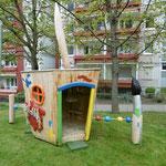 Erfurt, Clausewitzstr. 27, Kita 13 Farbenklecks Sommersprosse, Baujahr 2015