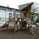 Berlingerode,  Schulhof Grund- und Regelschule, Baujahr 2016
