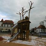 Ronneburg, Breitscheidplatz, Spielplatz, Baujahr 2015