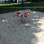 Eisenhüttenstadt, Chopinring, Spielplatz, Baujahr 2014