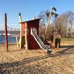Neubrandenburg, Strand am Badehaus, Spielplatz, Baujahr 2017