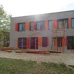Pirna OT Copitz Schillerstraße 38 Neubau Hort, Baujahr 2017