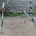 Brandenburg an der Havel  Brösestraße 1-13 Spielplatz Spielbau 2016