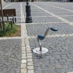 Zittau, Rathausplatz; Der Dino, Baujahr 2014