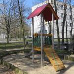 Berlin, Lissabonallee 27/ 29, Spielplatz, Baujahr 2015