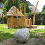 Thum, Kirchsteig,Spielplatz, Baujahr 2017