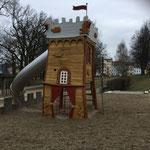 Fürstenwalde, Goetheplatz, Spielplatz, Baujahr 2015