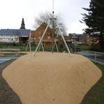 Kirchgandern, Dorferneuerung Spielplatz, Baujahr 2015