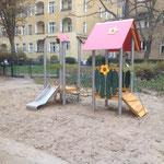 Berlin-Schöneberg, Retzdorfpromenade, Spielplatz, Baujahr 2014