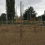 Schwedt (Oder), Uferzone, Spielufer, Klettergarten, Baujahr 2015, Planer: Landschaftsarchitekt Frank Buck in Straußberg