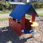Potsdam, Erich Mendelsohn Allee, Spielplatz, Baujahr 2018