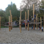 Berlin, Malchower See, Spielplatz, Planer: Landschaftsarchitekt Frank Buck in Straußberg