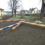 Gera, An der Radrennbahn, Spielplatz, Baujahr 2015
