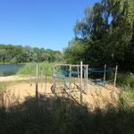 Mittenwalde, Tonsee, Spielplatz im  Strandbereich, Baujahr 2016